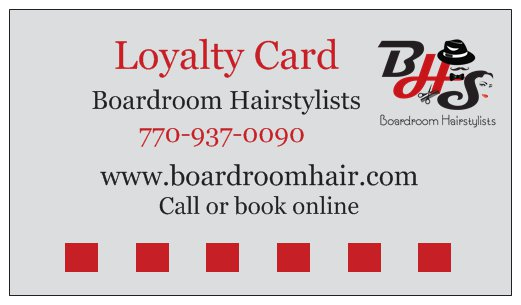 We are exited to announce our loyalty program, ask for details.