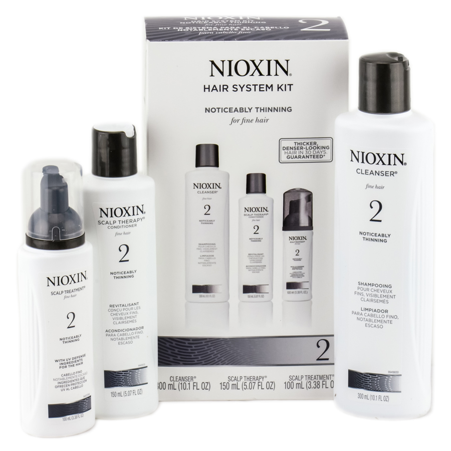 Nioxin Is Customized Care For Thinning Hair With Formulas For Both